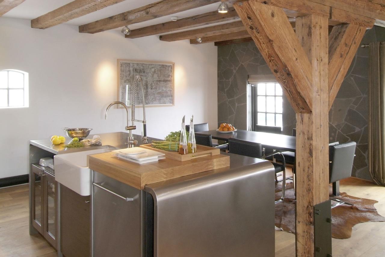 Hotel Texel | keuken en eettafel